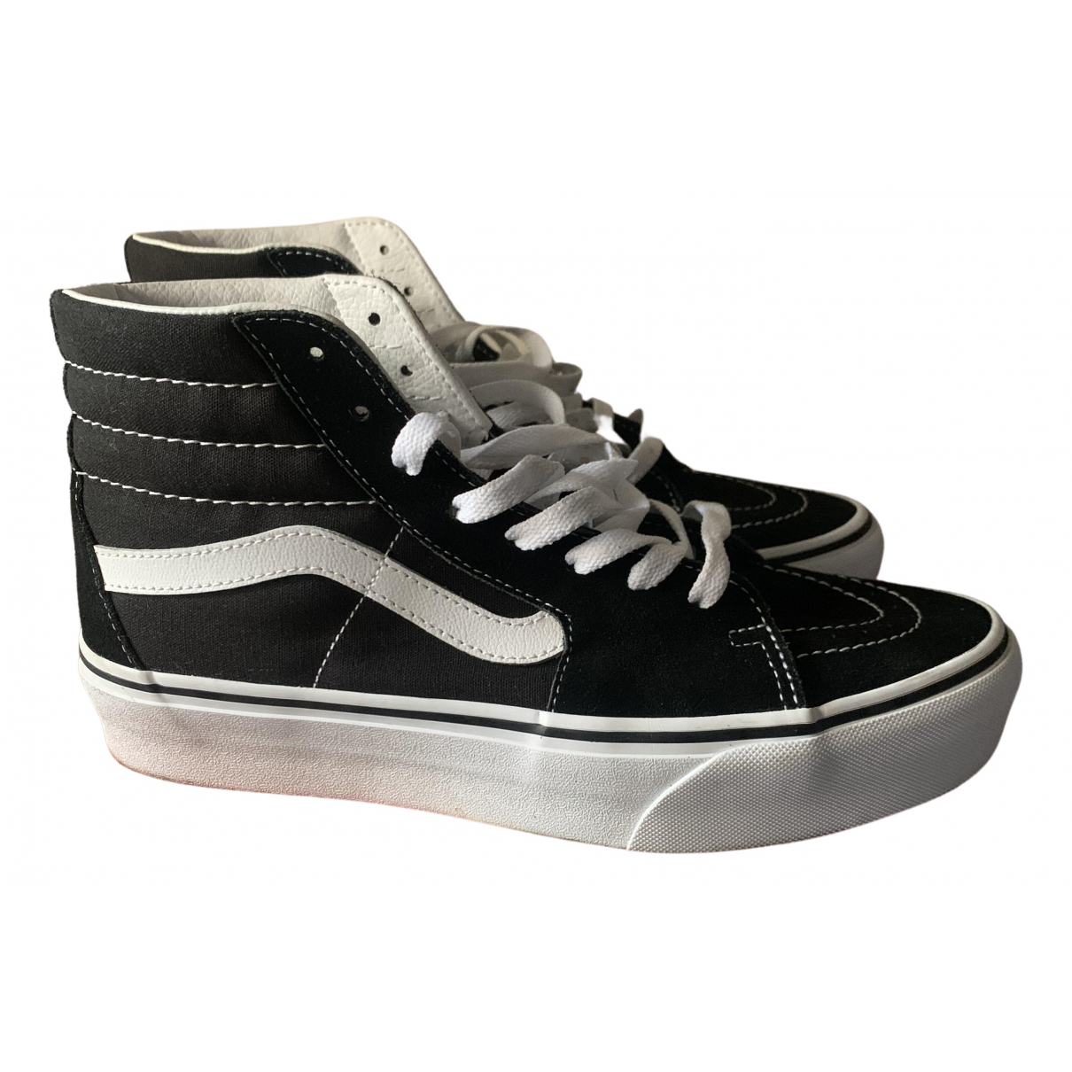 Vans \N Black Cloth Trainers for Women 40 EU