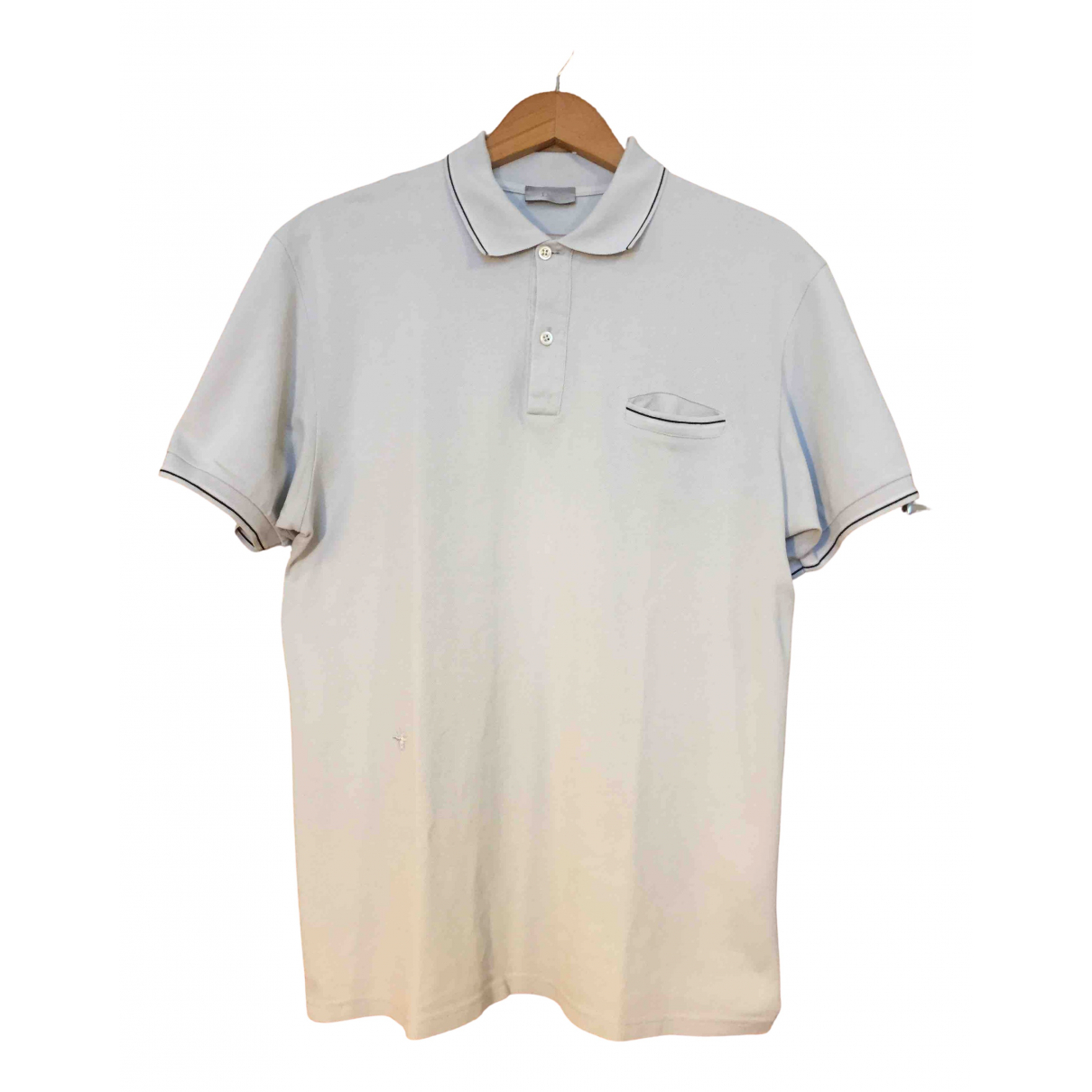 Dior Homme \N Poloshirts in  Blau Baumwolle