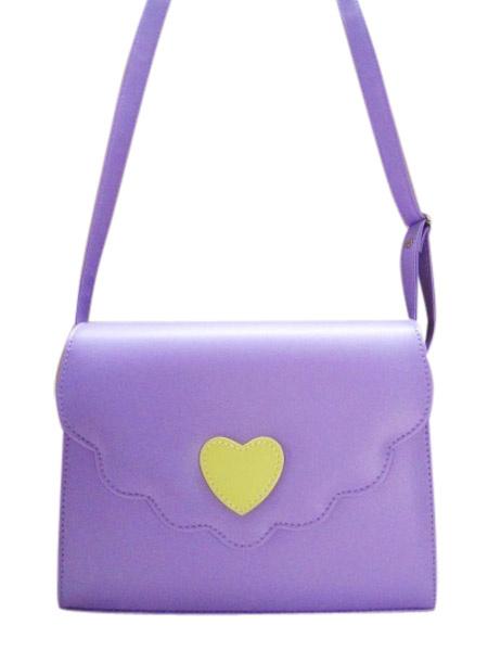 Milanoo Angle PVC Cross Body Strap Lolita Bag