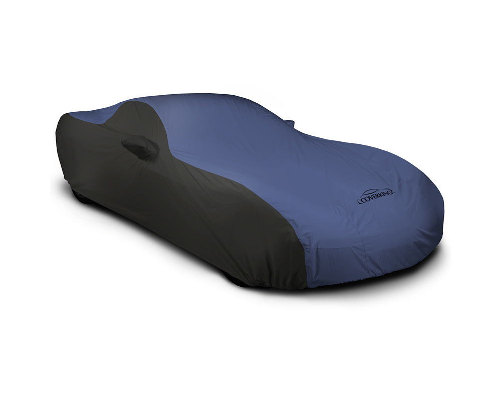 Coverking CVC4SP297AU9280 CVC4SP297 Stormproof 2-Tone Black Sides Blue Center Custom Car Cover Audi Q3 15-20