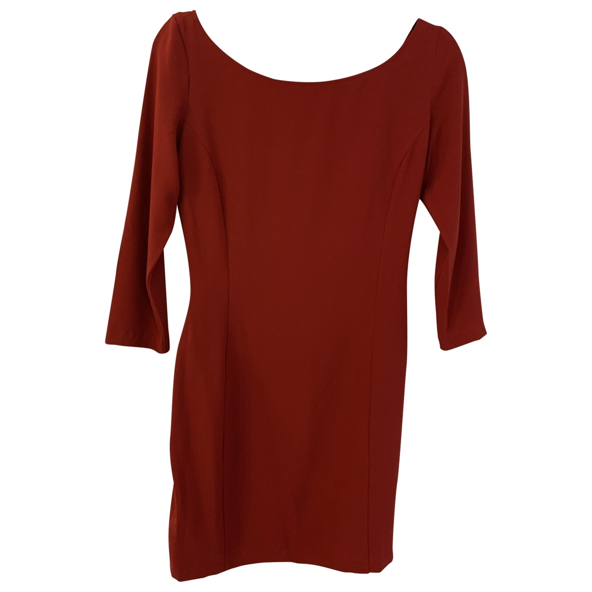 Guess \N Kleid in  Rot Polyester