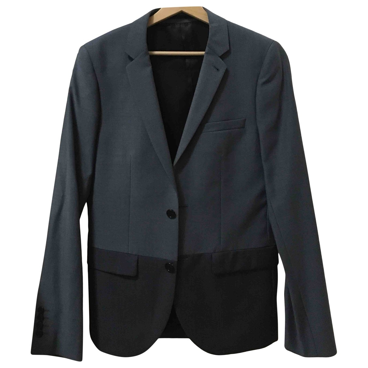 Topman \N Jacke in  Blau Wolle