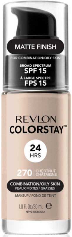 ColorStay Makeup For Combo/Oily Skin - 270 Chestnut