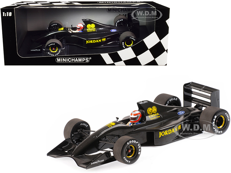 Jordan Ford 911 John Watson Formula One F1 Testing Silverstone 28th November 1990 Limited Edition to 150 pieces Worldwide 1/18 Diecast Model Car by M