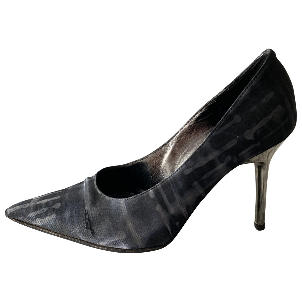 Non Signe / Unsigned \N Pumps in  Bunt Polyester