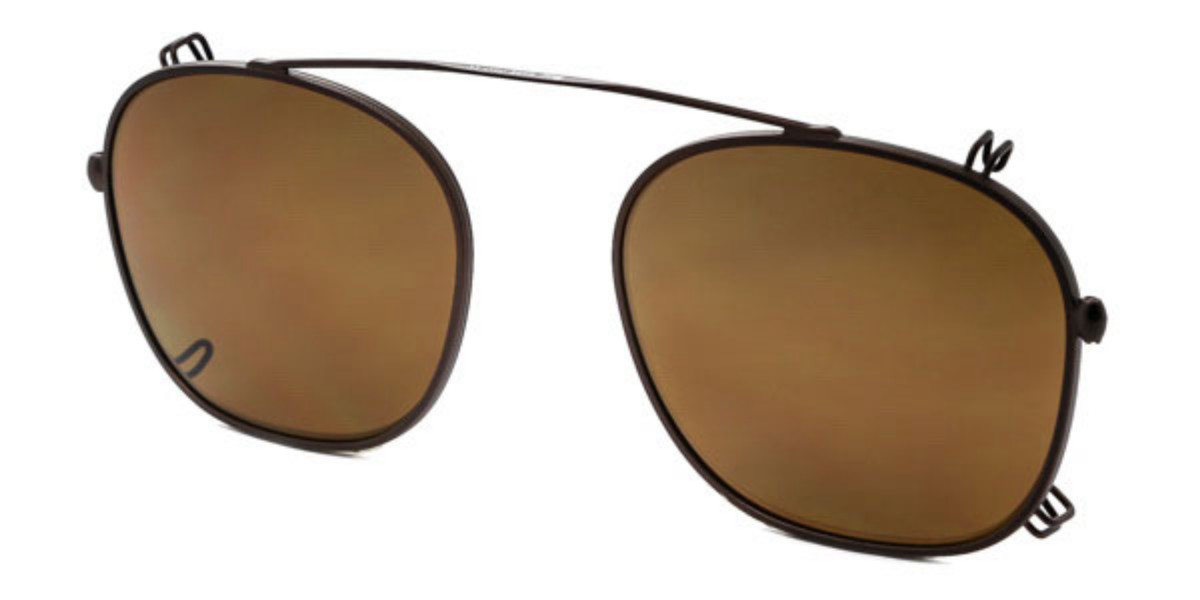 Persol PO3007C Clip On Only Polarized 962/83 Mens Sunglasses Brown Size 48