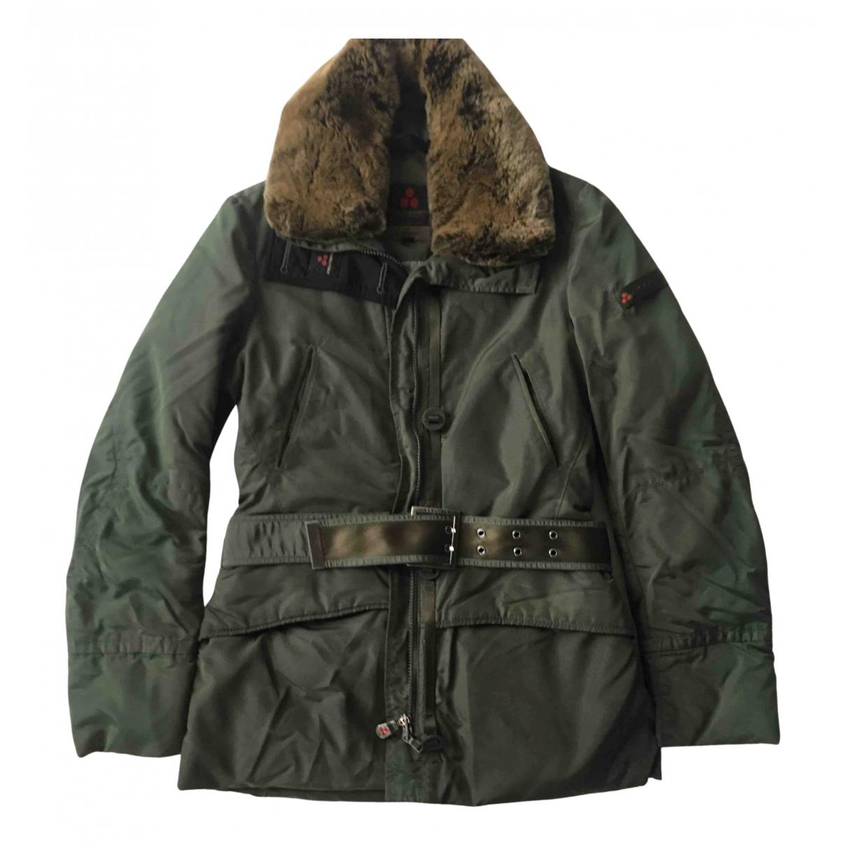 Peuterey - Manteau   pour femme - vert