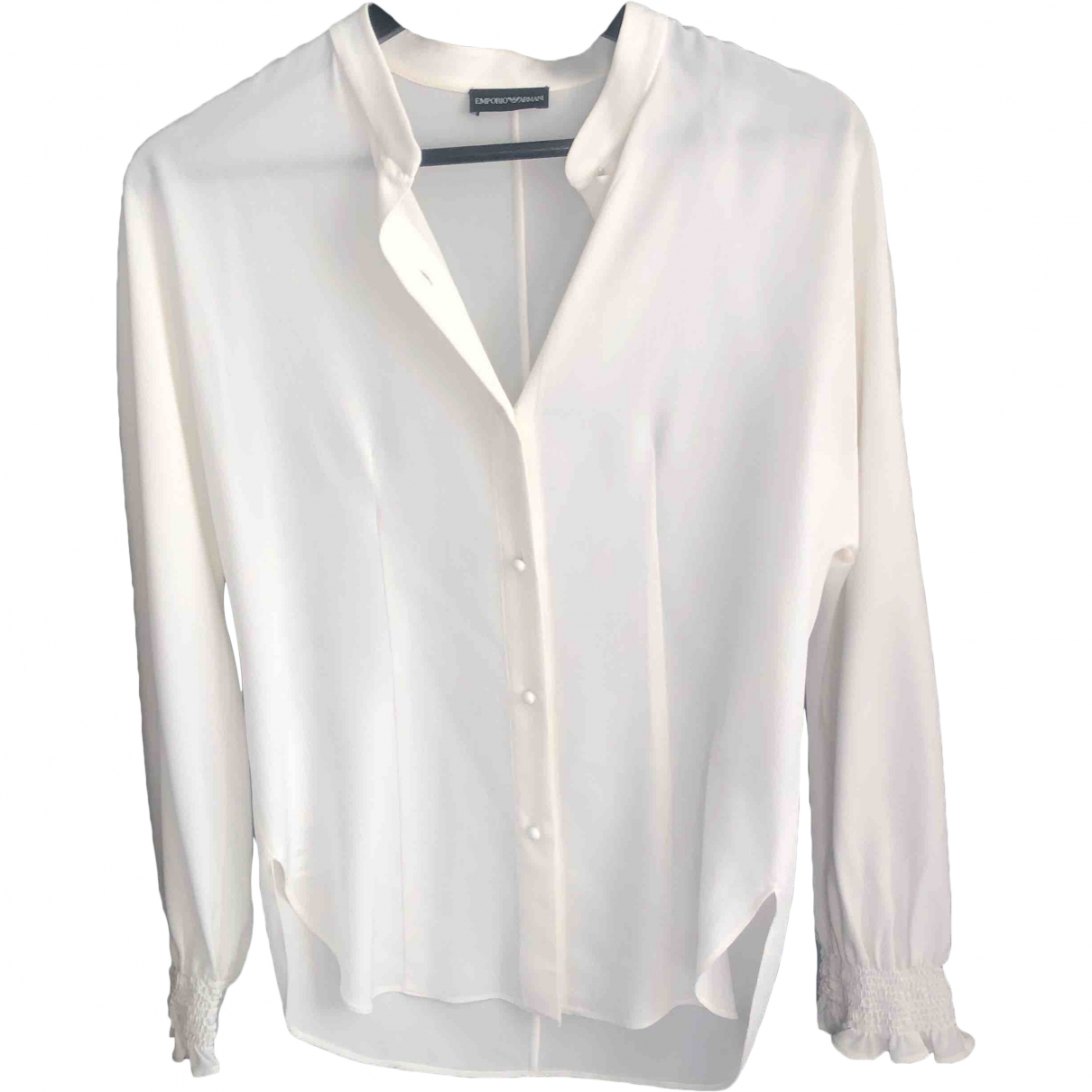 Emporio Armani \N Top in  Weiss Seide