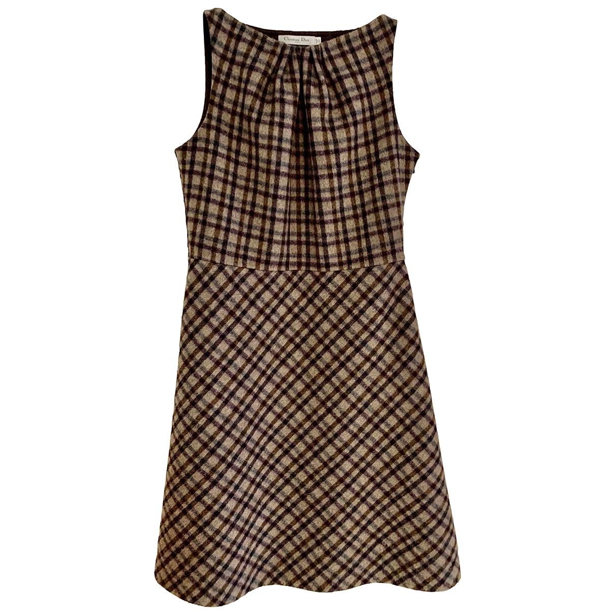 Dior \N Kleid in  Bunt Wolle