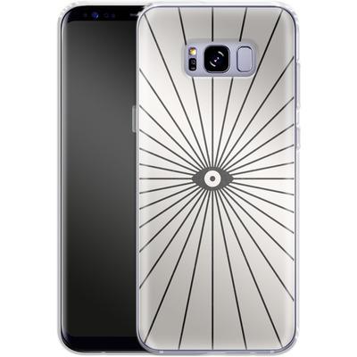 Samsung Galaxy S8 Plus Silikon Handyhuelle - Big Brother von Florent Bodart