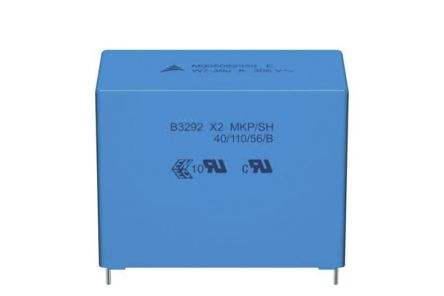 EPCOS 15μF Polypropylene Capacitor PP 350V ac ±10% Tolerance Through Hole B32928A4 Series (27)