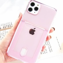 Clear iPhone Case With Card Slot