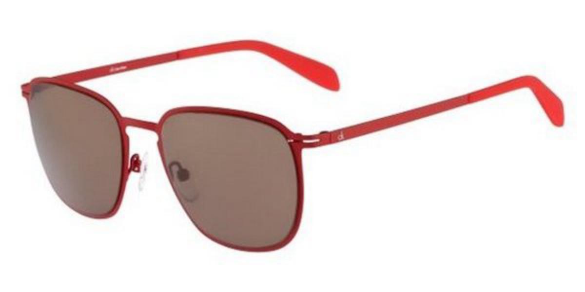 CK 2136 365 Men's Sunglasses Red Size 53