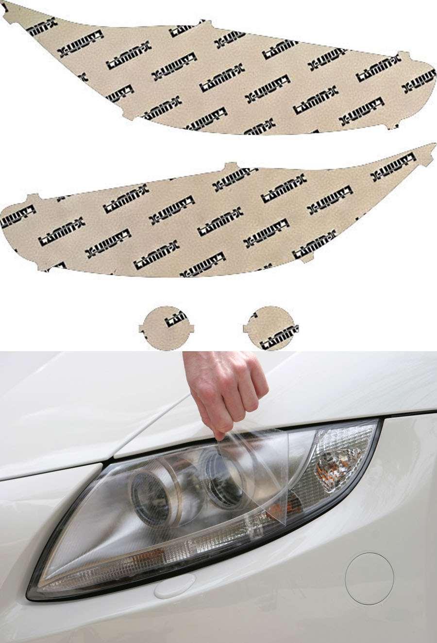 Ford Fiesta ST 14-19 Clear Headlight Covers Lamin-X F046CL