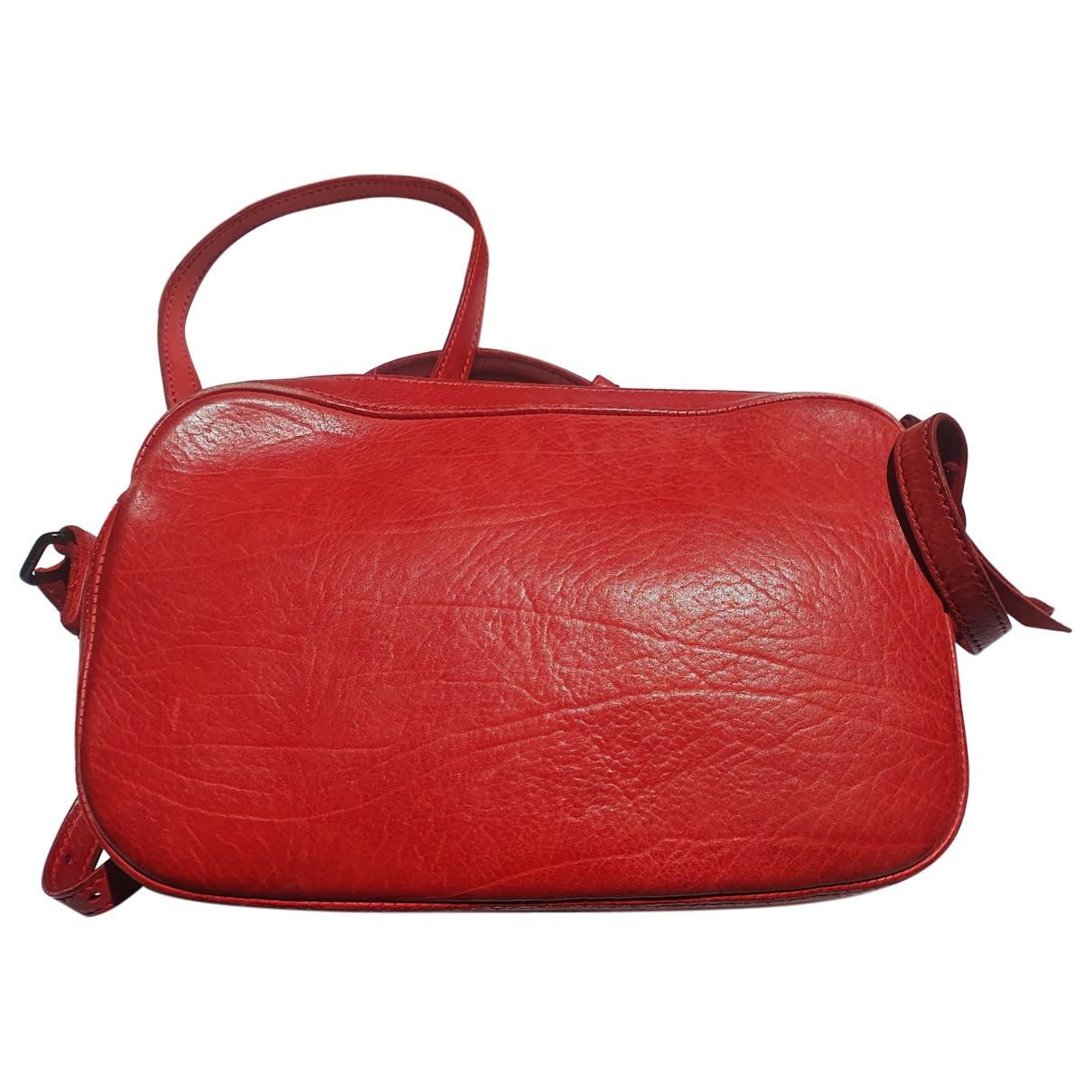 Christian Peau \N Clutch in  Rot Leder
