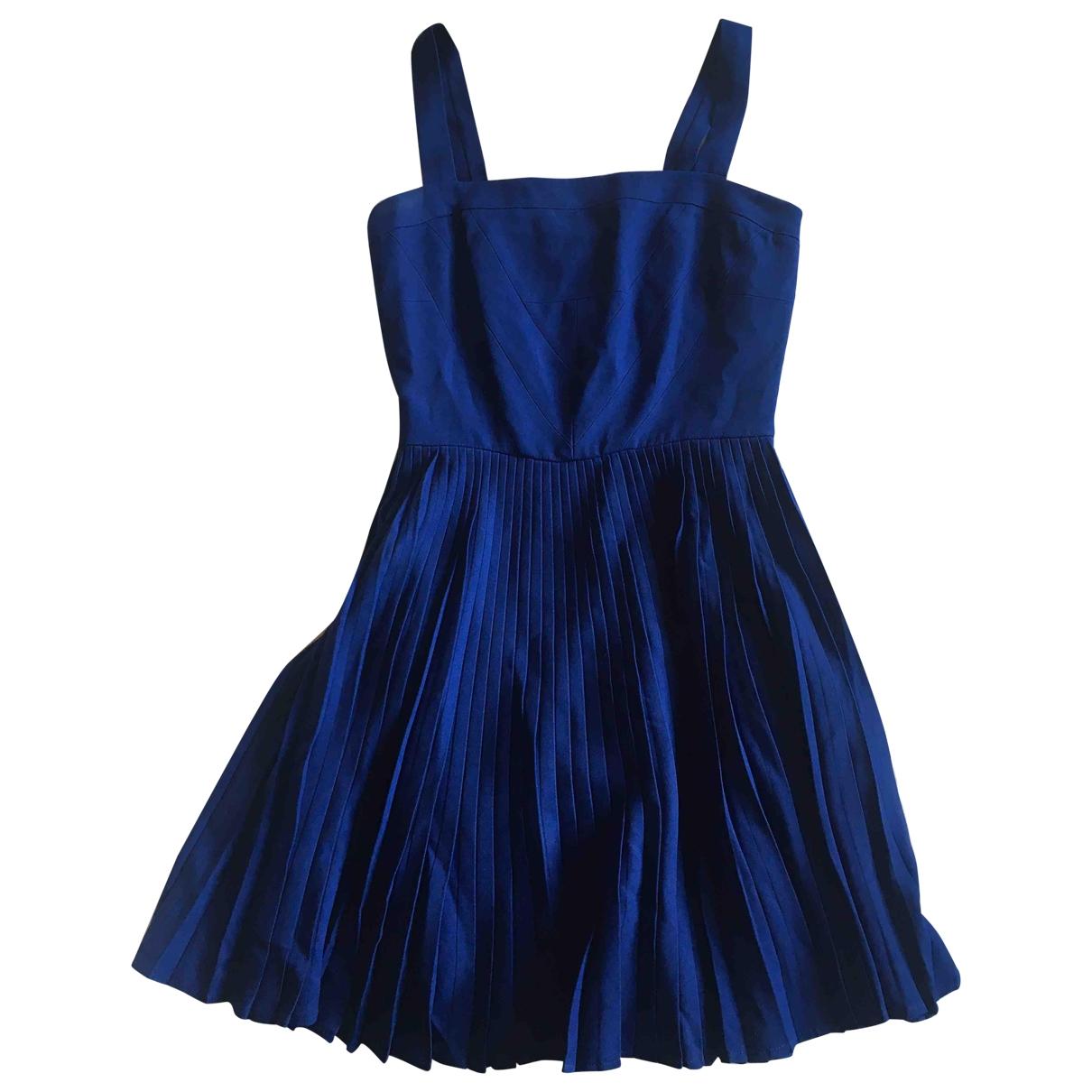 Versus \N Kleid in  Blau Synthetik