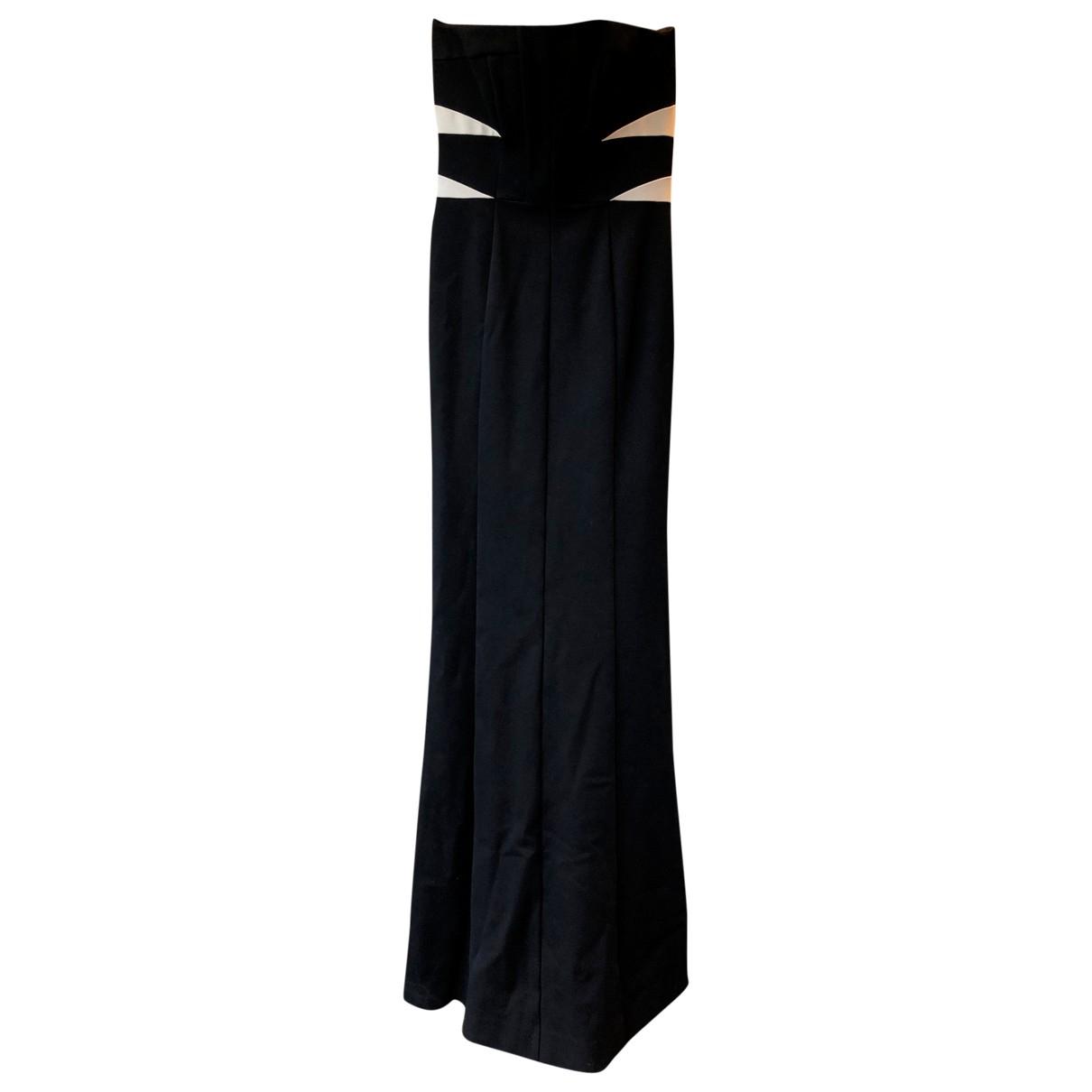 Amanda Wakeley \N Kleid in  Schwarz Viskose