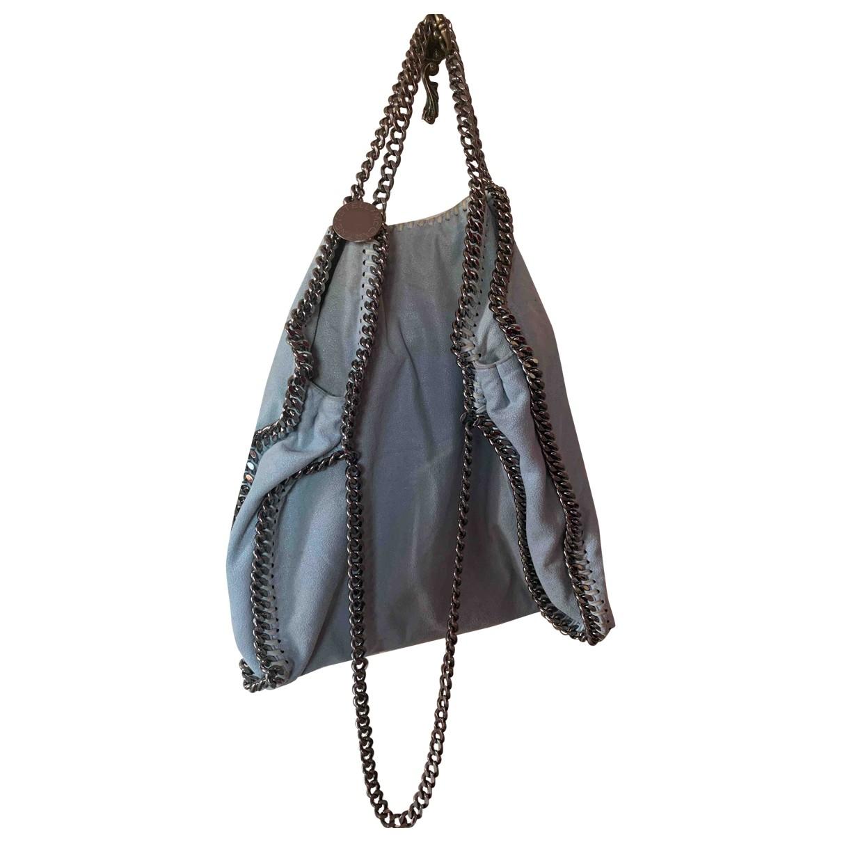 Stella Mccartney Falabella Handtasche in  Blau Synthetik
