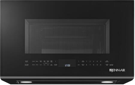JMV9196CB 30 Over the Range Microwave Oven with Convection  Perimetric Venting  Integrated Pocket Handle  4 Stage Memory Cooking   and 1500 Watts