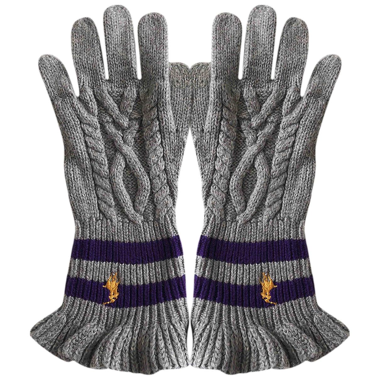 Polo Ralph Lauren \N Hut, Muetzen, Handschuhe in  Grau Wolle