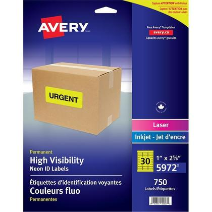 Avery@ High Visibility Laser Labels
