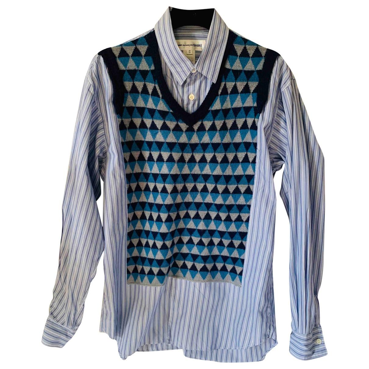 Comme Des Garcons \N Hemden in  Blau Baumwolle