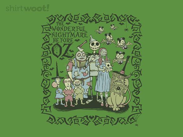 The Wonderful Nightmare T Shirt