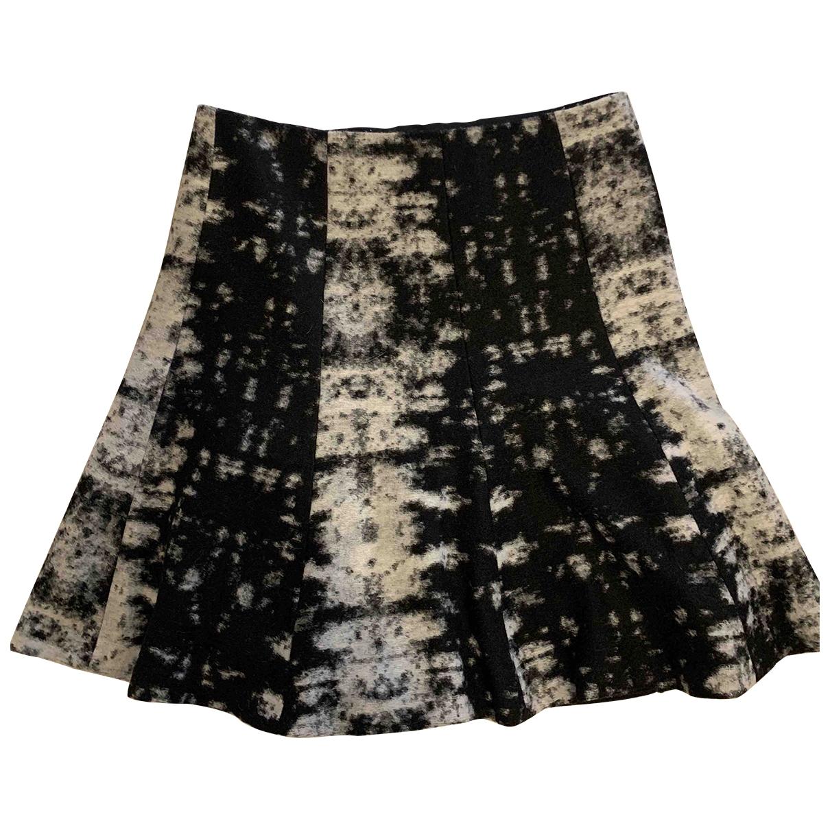 Sandro - Jupe   pour femme en laine - noir