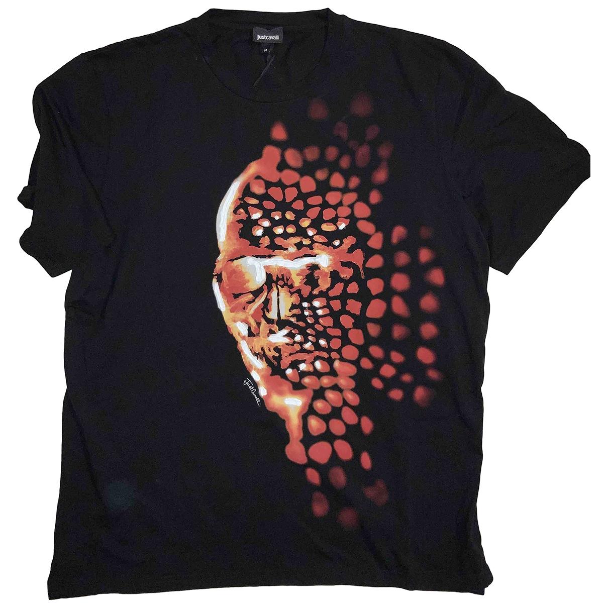 Just Cavalli \N T-Shirts in  Schwarz Baumwolle