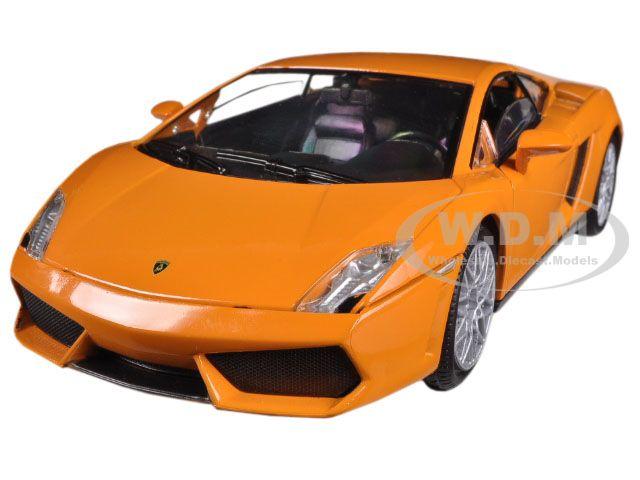 Lamborghini Gallardo LP-560-4 Orange 1/24 Diecast Model Car by Motormax