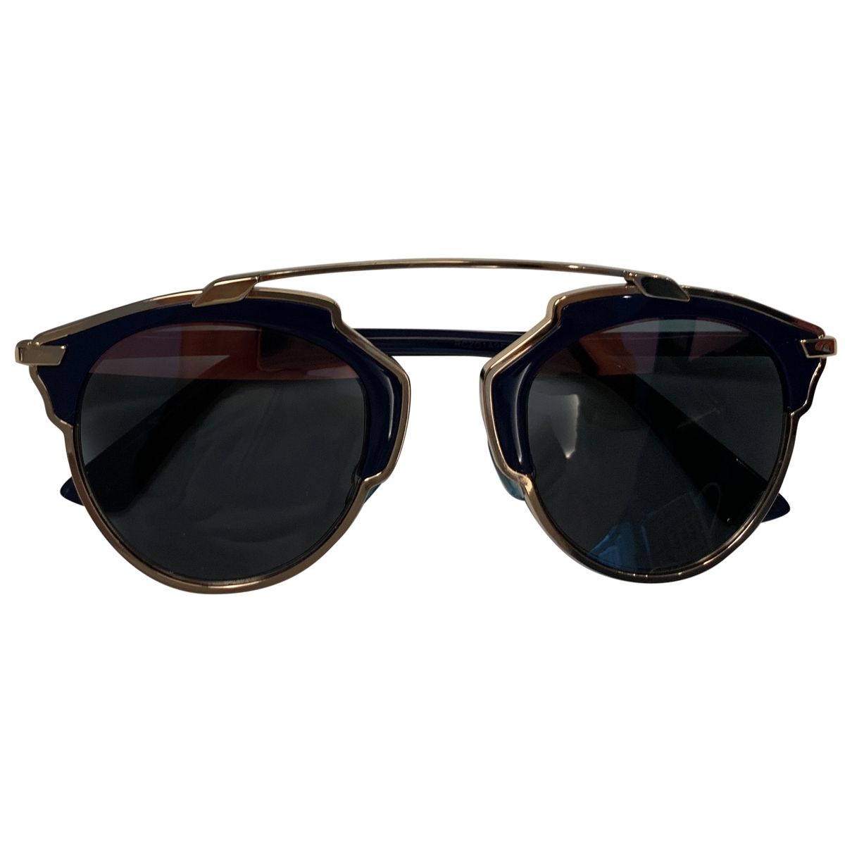 Dior So Real  Blue Metal Sunglasses for Women \N