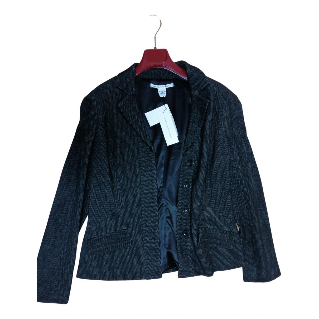 Diane Von Furstenberg - Veste   pour femme en coton - gris