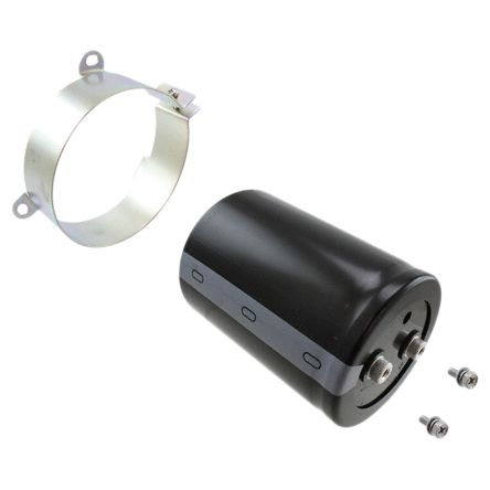Nichicon 1200μF Electrolytic Capacitor 450V dc, Screw Mount - LNY2W122MSEF