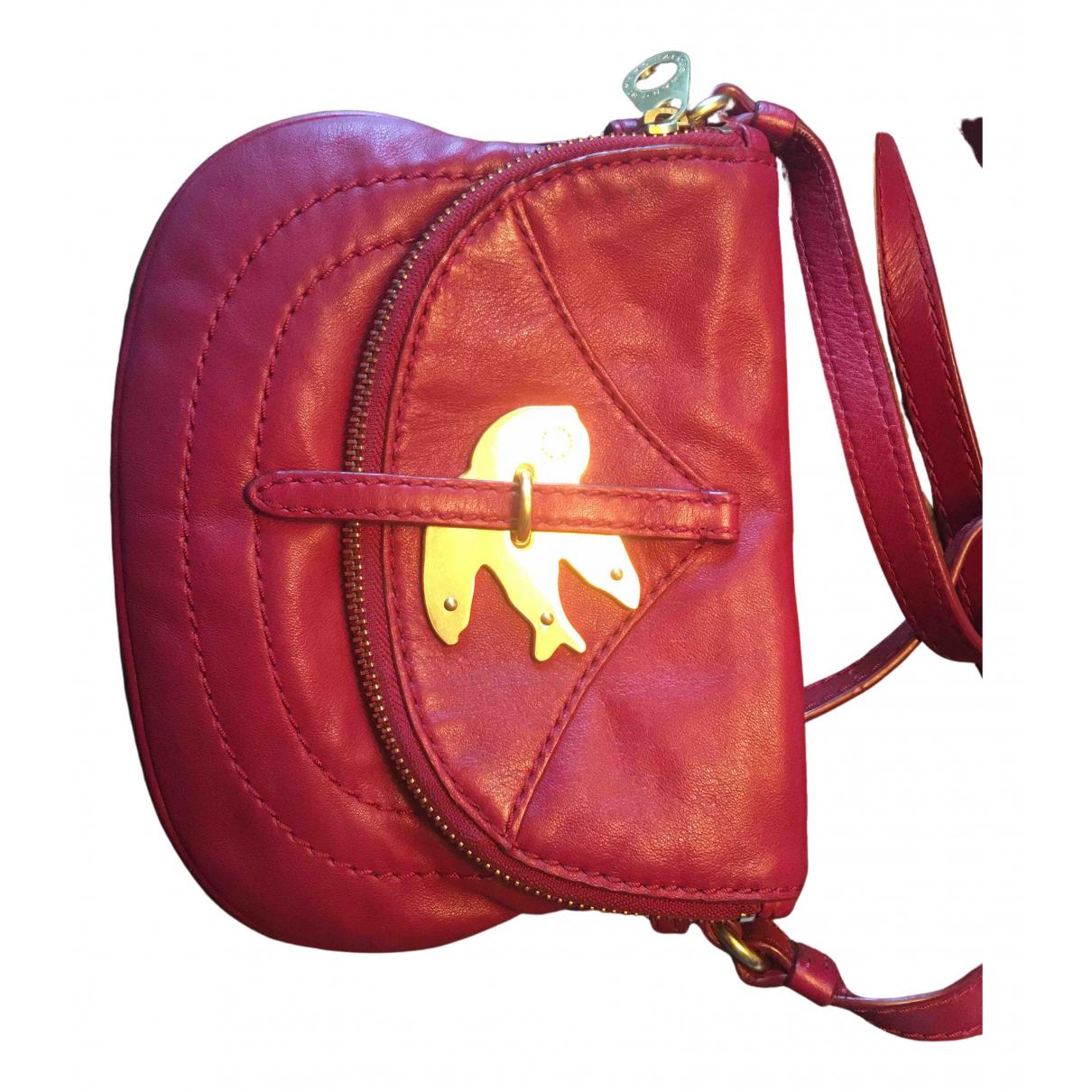 Marc By Marc Jacobs N Burgundy Leather handbag for Women N