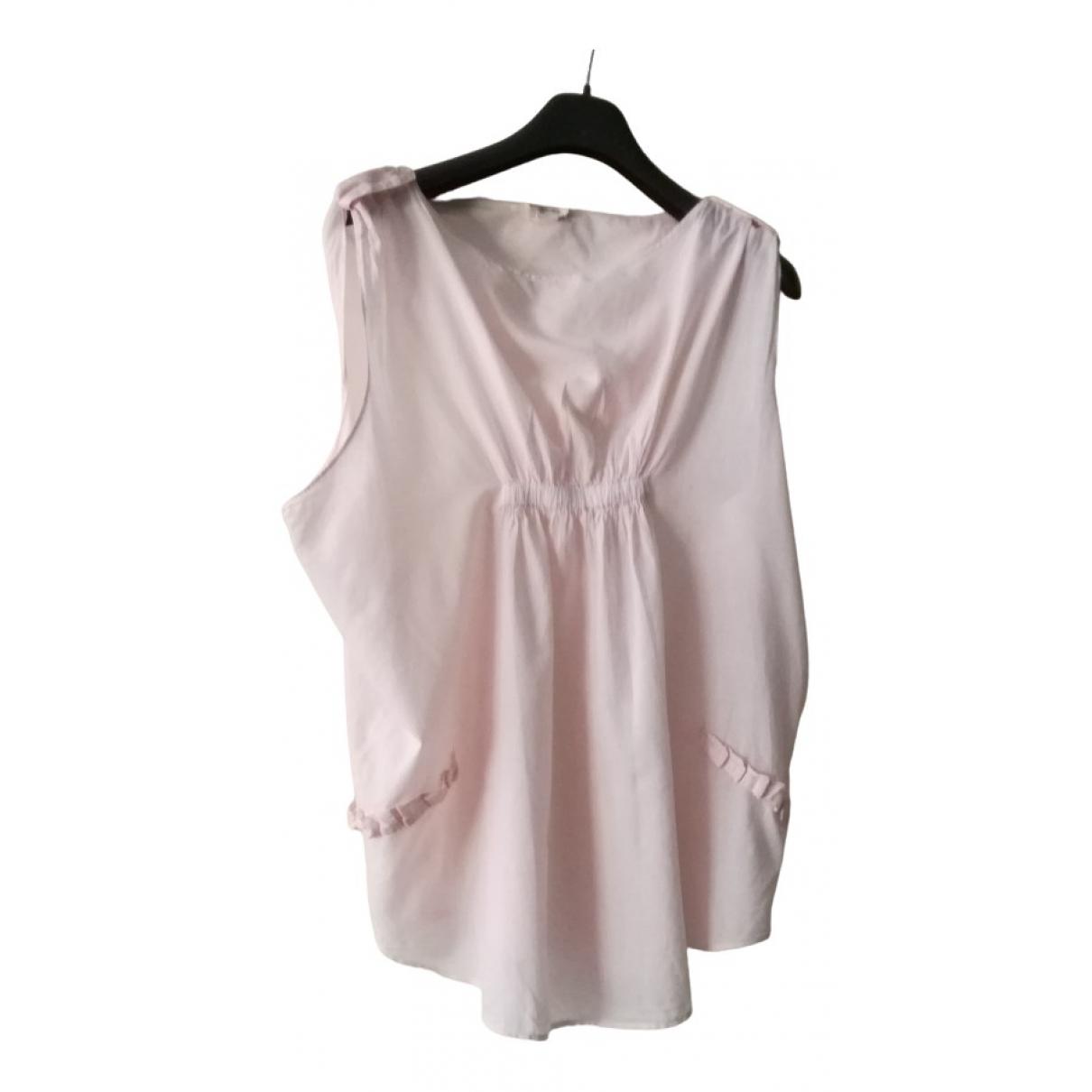 Diesel - Top   pour femme en coton - rose