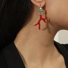 Branch Drop Earrings