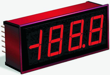 Murata Power Solutions Digital Voltmeter, LED Display 3.5-Digits, 34 x 22 mm