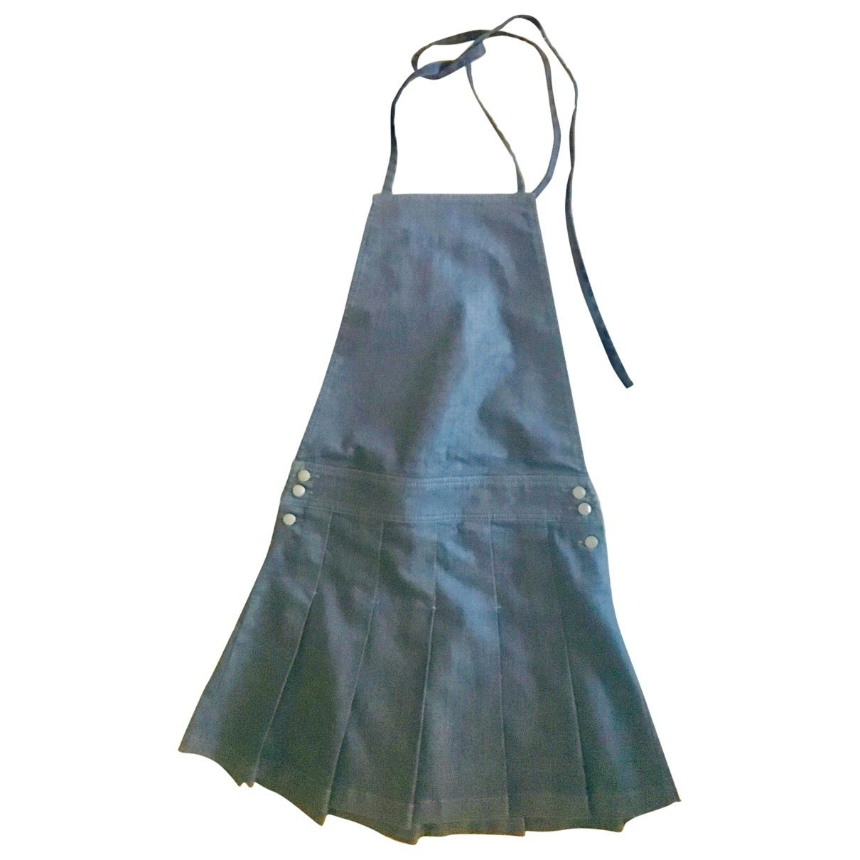 Mcq \N Kleid in  Blau Denim - Jeans