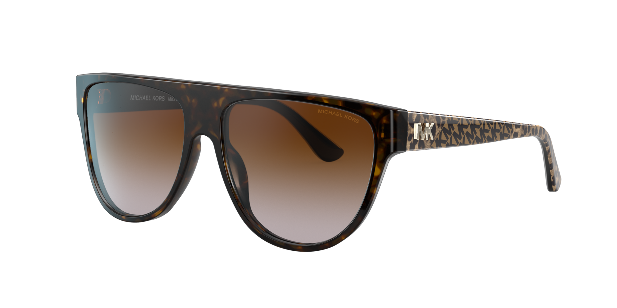 Michael Kors Unisex  MK2111 Barrow -  Frame color: Habana, Lens color: Degradadas marron
