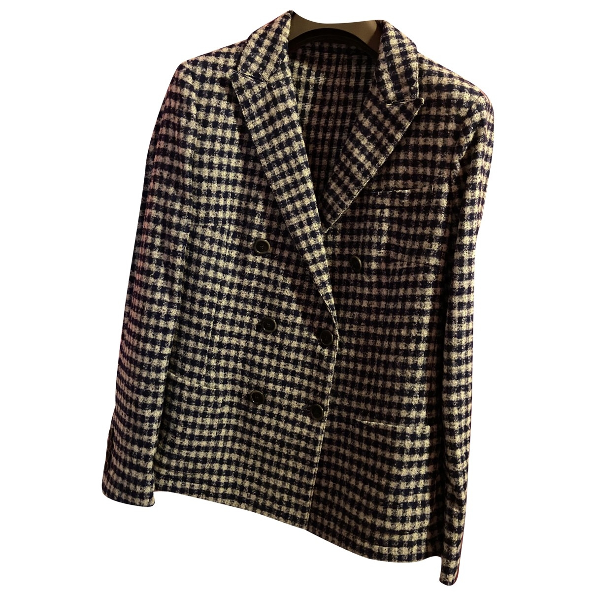 Eleventy \N Multicolour Wool jacket for Women 42 IT
