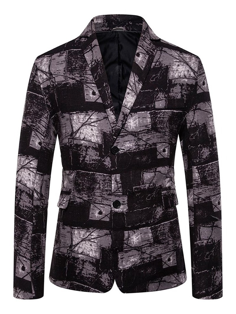 Ericdress Casual Single-Breasted Button Men's Leisure Blazers