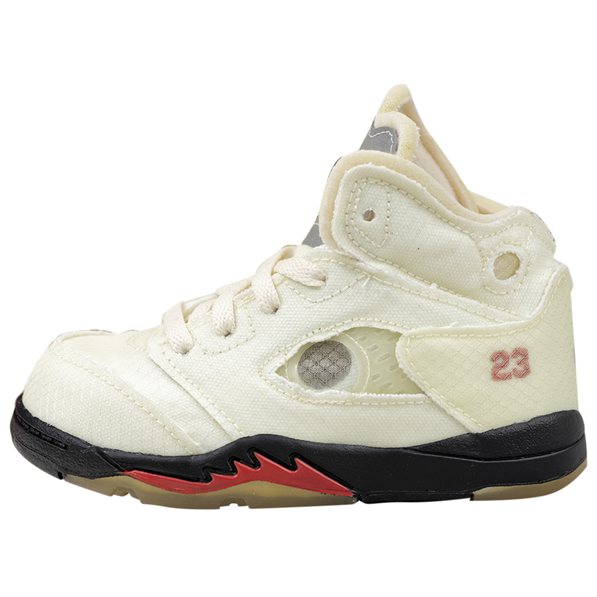 Jordan - Baskets Air Jordan 5 pour enfant en toile - beige