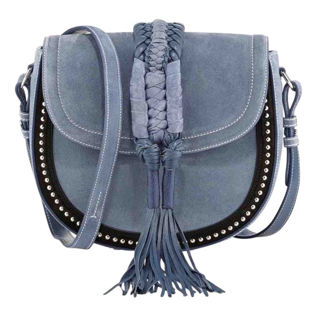 Altuzarra \N Blue Suede handbag for Women \N