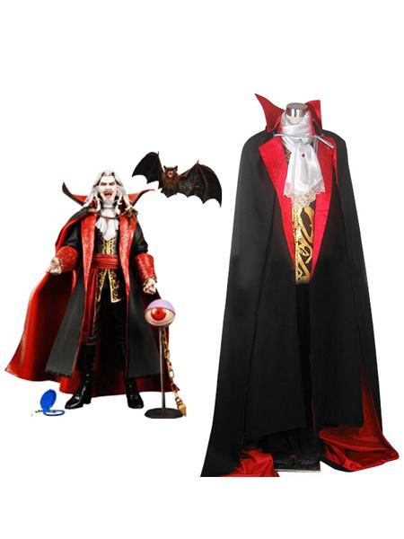 Milanoo Halloween Traje de Conde Dracula para cosplay de Castlevania
