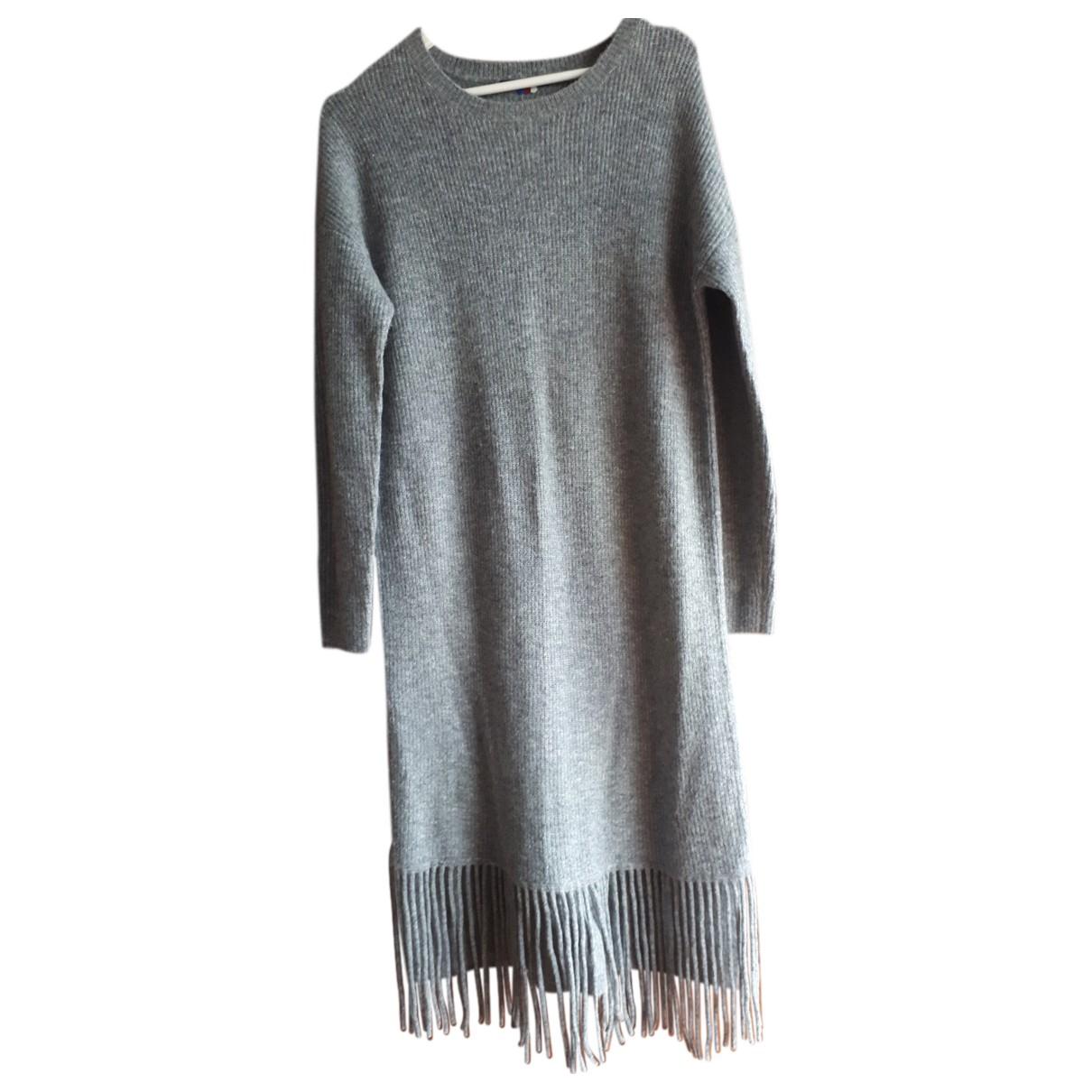 Autre Marque \N Kleid in  Grau Viskose