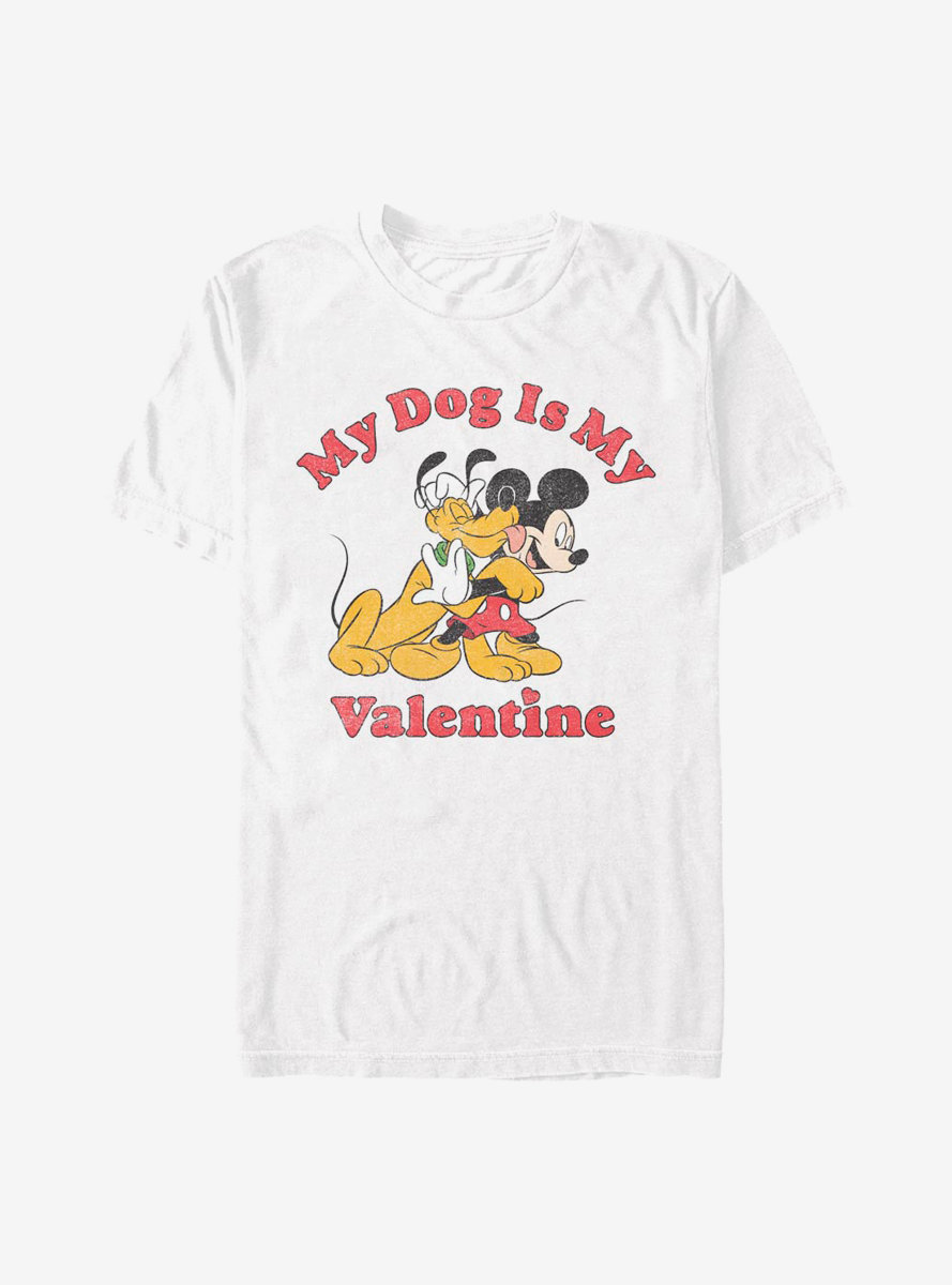 Disney Mickey Mouse Love My Dog T-Shirt
