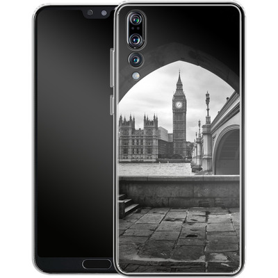 Huawei P20 Pro Silikon Handyhuelle - Houses Of Parliament von Ronya Galka