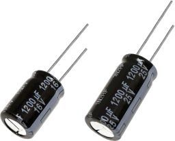 Panasonic 120μF Electrolytic Capacitor 100V dc, Through Hole - EEUFS2A121L (200)