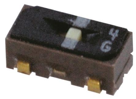 Copal Electronics PCB Slide Switch Single Pole Double Throw (SPDT) 100 mA @ 6 V dc Slide (5)