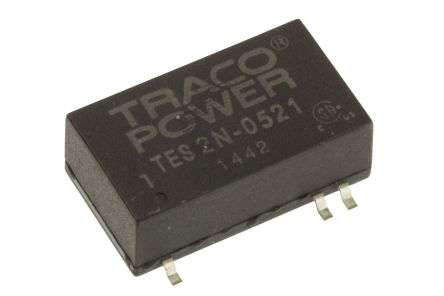 TRACOPOWER TES 2N 2W Isolated DC-DC Converter Surface Mount, Voltage in 4.5 → 9 V dc, Voltage out ±5V dc